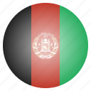 afghan, afghani, afghanistan, asian, country, flag, national icon