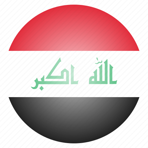 asian, country, flag, iraq, iraqi, middle-east, national icon