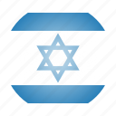 asian, country, flag, israel, israeli, national icon