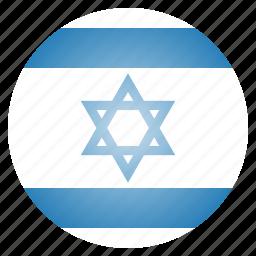 asian, country, flag, israel, israeli, national icon