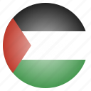 asian, country, flag, national, palestine icon