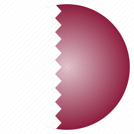 asian, country, flag, national, qatar, qatari icon