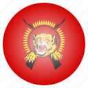 country, eelam, flag, national, tamil, tamizh, tamizhan icon