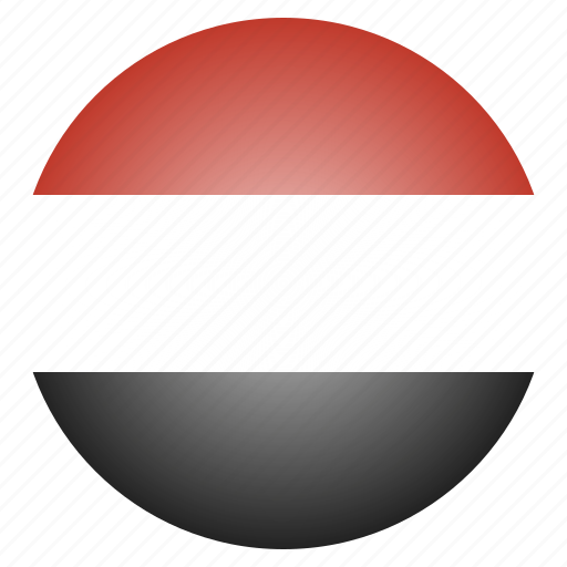 asian, country, flag, national, yemen icon