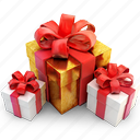 box, gift, package, present icon