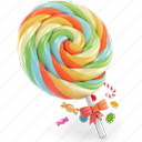 candy, lolipop, sugar, sweet icon