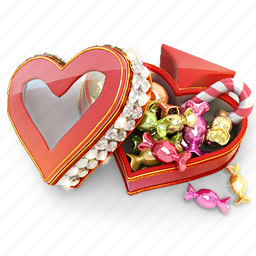 candy, heart, mint, snack, spades, sugar icon