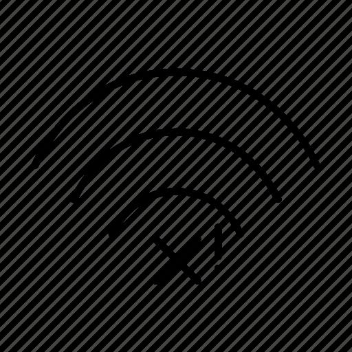 problem, wifi icon
