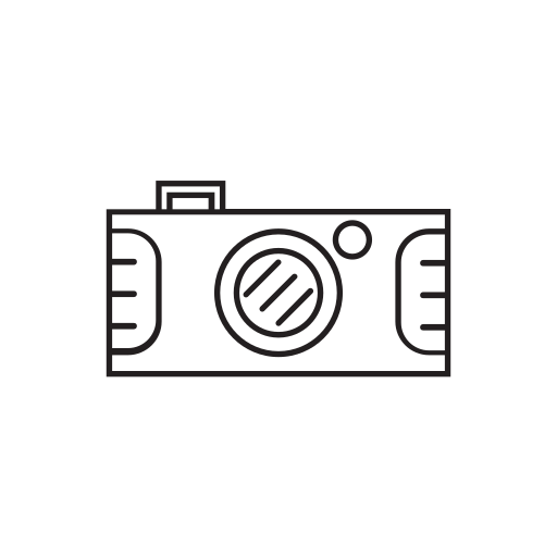 camera, dslr, flash, lens, pictures icon