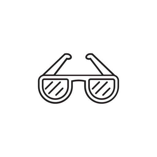 eye protection, eyesight, eyewear, fashion, glasses, ray bans, sunglasses icon