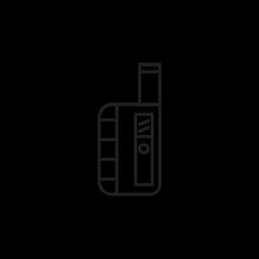 atomizer, cloud chaser, cloudchaser, pen, vape, vape pen, vaporizer icon
