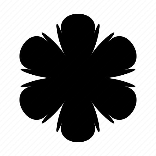 asterisk, fantasy, floral, flower, punctuation, spring, star icon