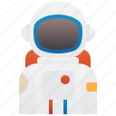 astronaut, cosmonaut, costume, protection, space
