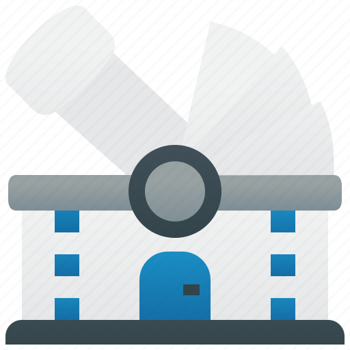 Astronomy, dome, observatory, research, telescope icon - Download on Iconfinder