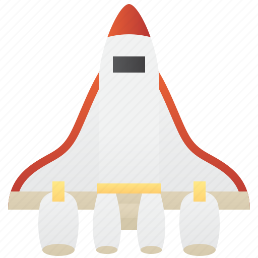 launch, orbiter, plane, space, transportation icon