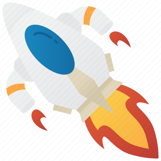 flight, launch, rocket, space, travel icon