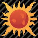 daytime, heat, solar, star, sun icon