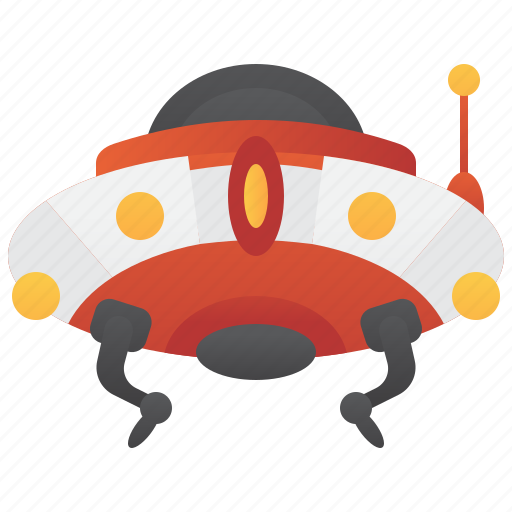 alien, invasion, spacecraft, ufo, universe icon