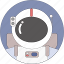 astronaut, astronomy, cosmos, space, universe icon