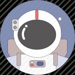 astronaut, astronomy, cosmos, space, universe icon
