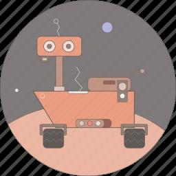astronomy, curiositi, mars, space icon