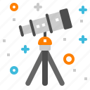astronomy, camera, science, space, telescope icon