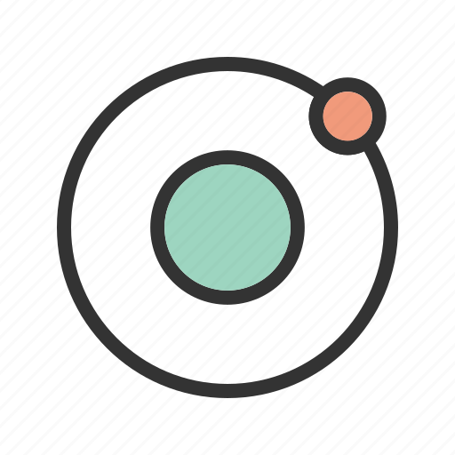 earth, orbit, orbits, planet, solar, space, system icon