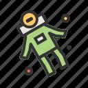 astronaut, cosmos, helmet, sky, space, spaceman, universe icon