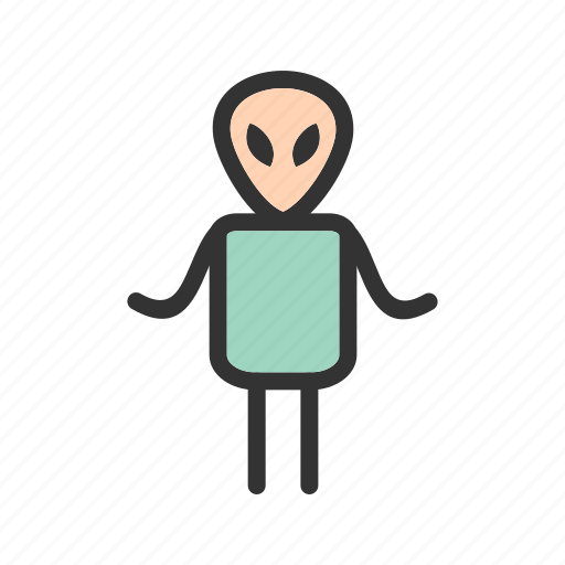alien, creature, face, fantasy, head, monster, scary icon