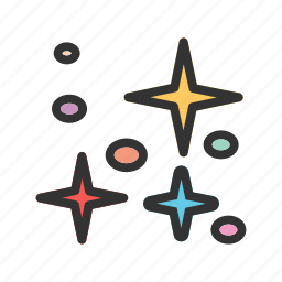 astronomy, nature, night, sky, space, star, stars icon