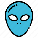 alien, astronomy, science, space, ufo icon
