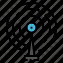 antenna, communication, pole, radar, signal icon
