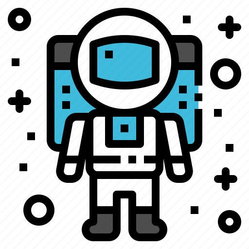 astronaut, astronomy, science, space, suit icon