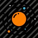galaxy, planet, solar, sun, system, universe icon