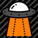 alien, astronomy, spaceship, spcae, ufo icon
