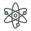 astronomy, atom, space icon
