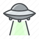 abdiction, alien, astronomy, space, ufo icon