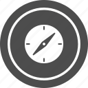 compass, direction, location, navigation, pin icon