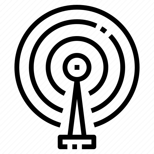 Antenna, communication, pole, radar, signal icon - Download on Iconfinder