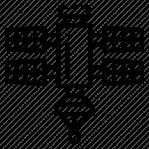 antenna, radar, satellite, signal, space icon