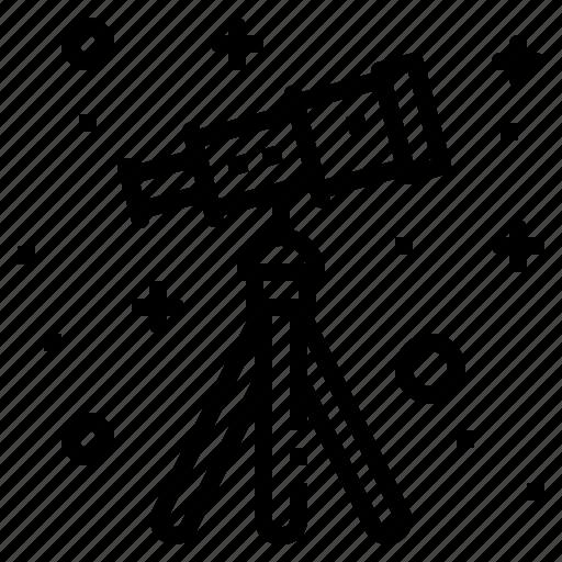 astronomy, camera, science, space, telescope icon