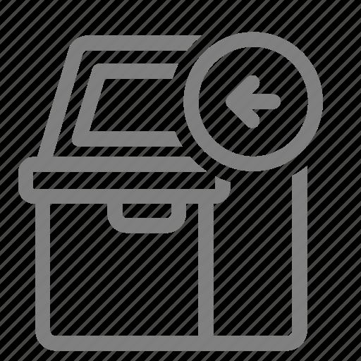 atm, cashin, cashout, dispenser, machine, money, withdraw icon
