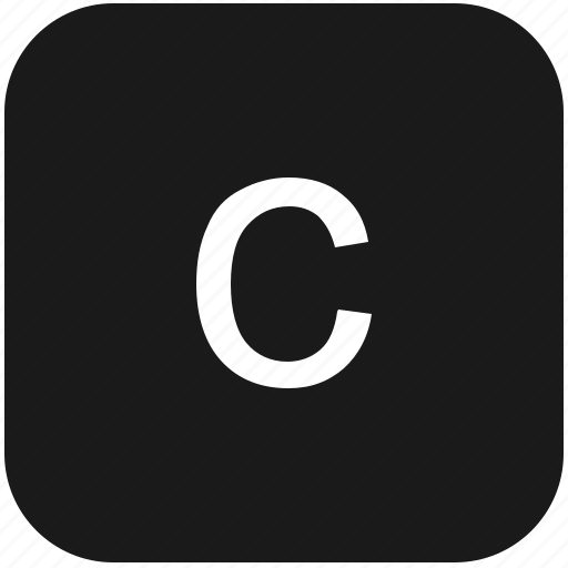c, eng, english, keyboard, latin, letter, lowcase icon