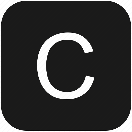 c, eng, english, keyboard, latin, letter, uppercase icon