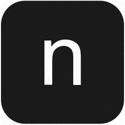 eng, english, keyboard, latin, letter, lowcase, n icon