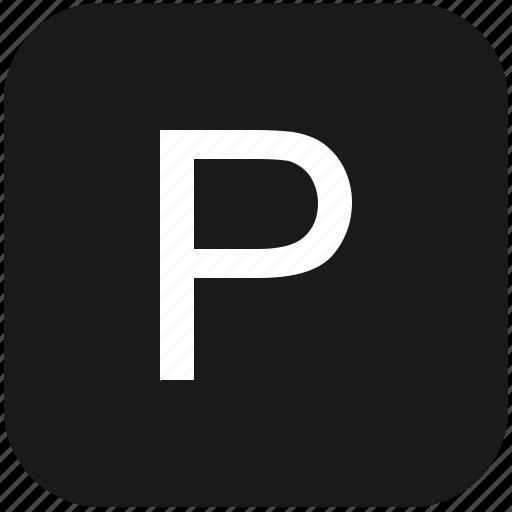 eng, english, keyboard, latin, letter, p, uppercase icon