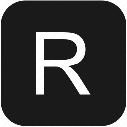 eng, english, keyboard, latin, letter, r, uppercase icon