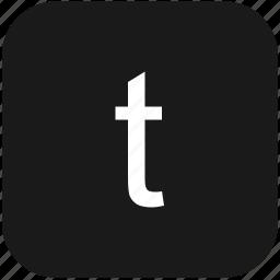 eng, english, keyboard, latin, letter, lowcase, t icon