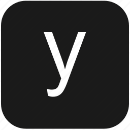 eng, english, keyboard, latin, letter, lowcase, y icon