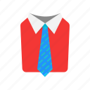 formal attire, men's attire, suit and tie, tie icon